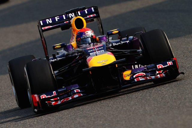With second place Vettel again fared better than his Red Bull teammate (Photo Credit: Mark Thompson/Getty Images)