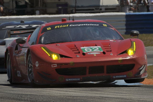 Risi Competizione finished second at Sebring, but face the streets of Long beach this weekend (Photo Credit: Ryan Smith)