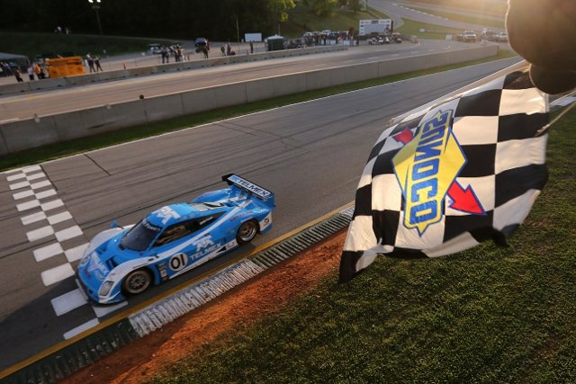 Pruett and Rojas dominated the race to protect their points lead (Photo Credit: Grand-Am)