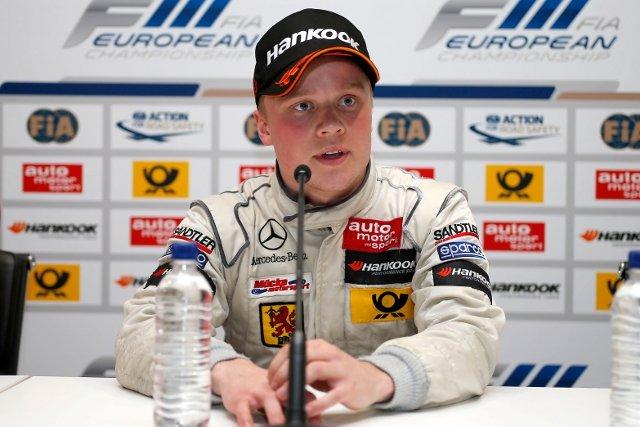 Felix Rosenqvist, Silverstone (Photo Credit: FIA F3 European Championship)