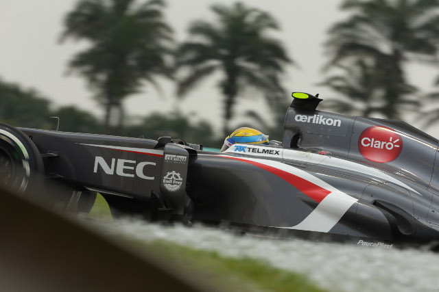 Gutierrez is still looking for his first F1 points (Photo Credit: Sauber Motorsport AG)