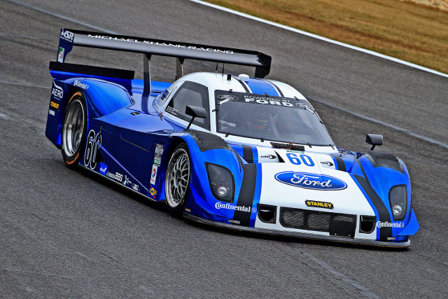 Both men in the #60 Ford-Riley will bring Road Atlanta experinece to the weekend (Photo Credit: Grand-Am)