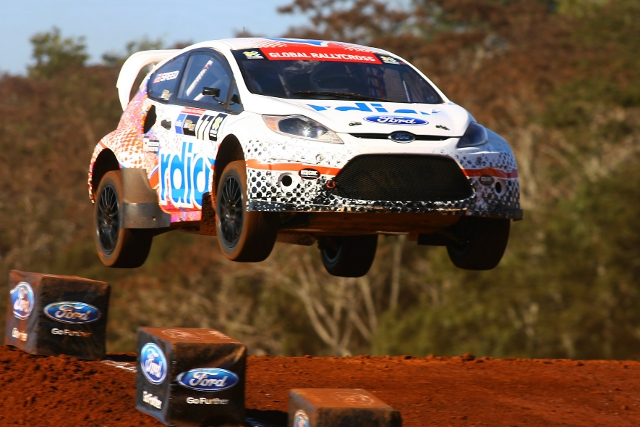 Scott Speed won a Ford dominated event (Photo Credit: