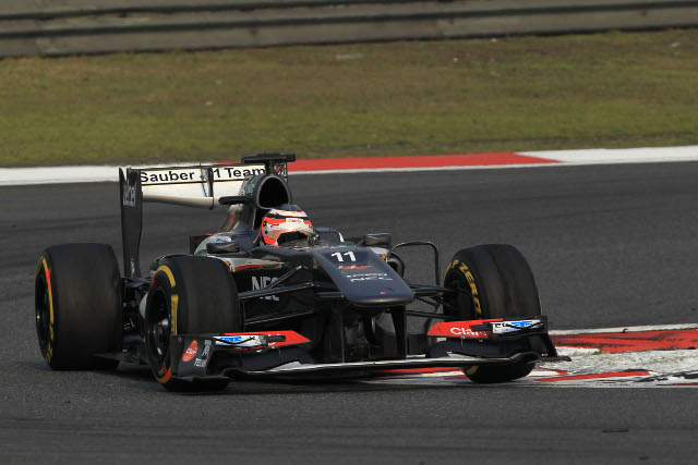 Nico Hulkenberg claimed the final point for Sauber (Photo Credit: Sauber Motorsport AG)