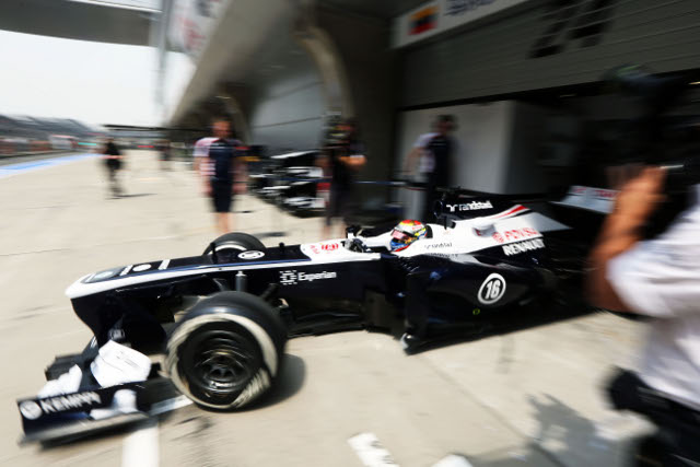 Williams missed out on points again in Shanghai (Photo Credit: Pirreli)