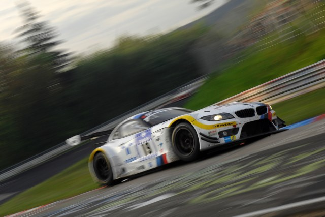 BMW's GT3 Z4 won the pole position last year, but was hit by problems in the race (Photo Credit: Chris Gurton Photography)
