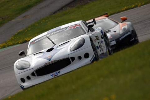 Dan Eagling took the Ginetta he shares with Matt Smith to GT4 pole (Photo Credit: Chris Gurton Photography)