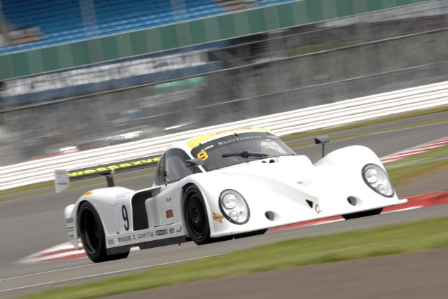 Life of Riley: Mustil gave the car pole on it's UK debut (Photo Credit: Chris Gurton Photography)