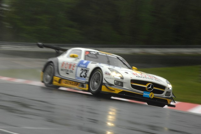 ROWE Mercedes ended the free practice session first and fourth (Photo Credit: Chris Gurton Photography)