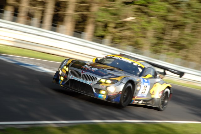 Martin put the #25 inside the top 10 for the 24 hours (Photo Credit: Chris Gurton Photography)