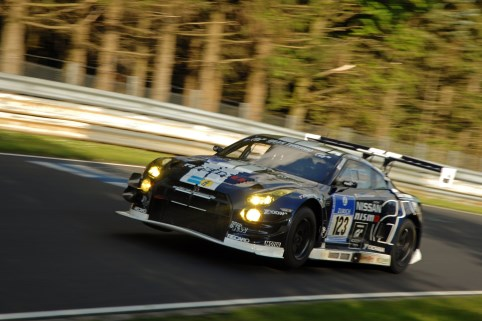 Drivers pushed to the limits on two flying laps around the Nordschleife (Photo Credit: Chris Gurton Photography)