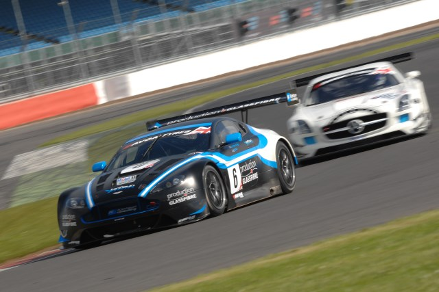 Gaw set the two fastest laps of the session in the #6 Vantage (Photo Credit: Chris Gurton Photography)