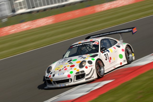 Tnady was the fastest man in the Trackspeed Porsches in qualifying (Credit: Chris Gurton Photography)