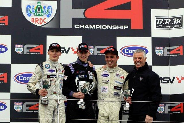 Barlow F4 win 2013