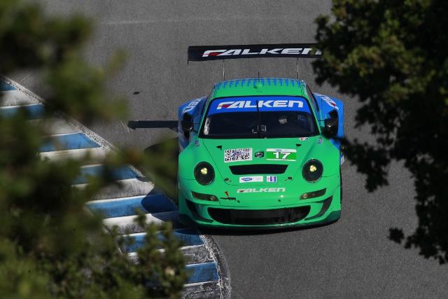 team Falken Tire, Laguna Seca (Photo Credit: Porsche North America)