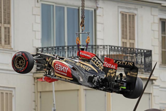 Grosjean Monaco 25May13