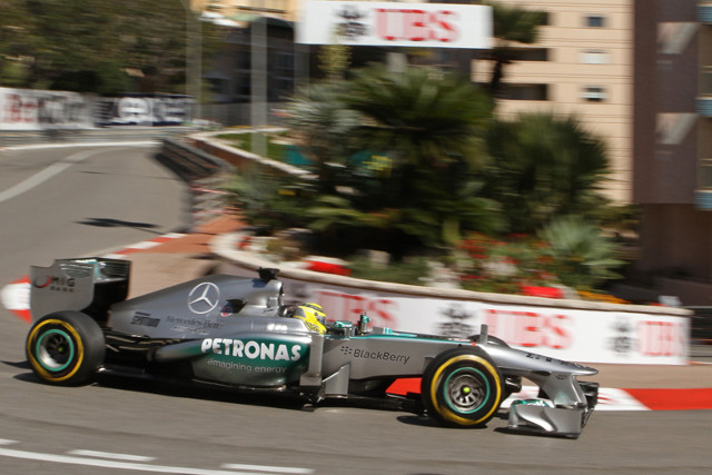 Rosberg Monaco 25May13