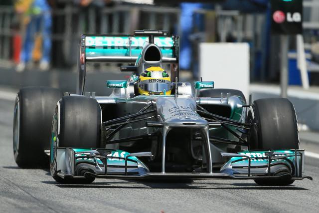 Rosberg Spain 11May13