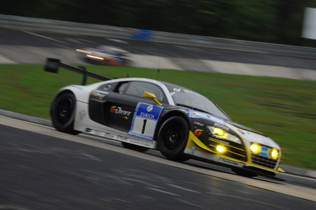 The defending Nurburgring 24 champions were the best Audi in fifth place (Photo Credit: Chris Gurton Photography)