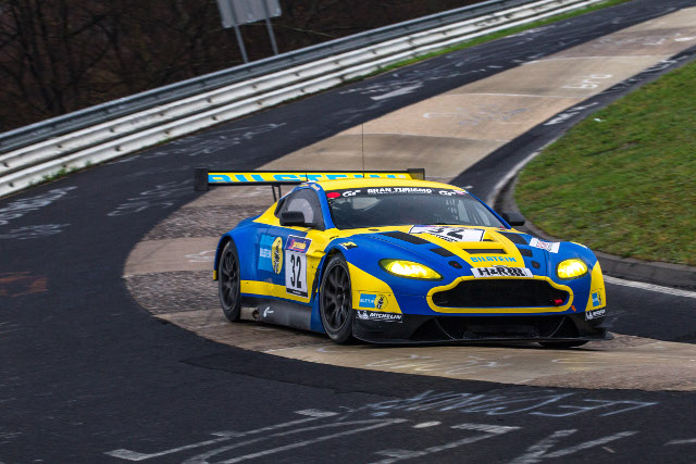 The Bilstein livered GT3 Vantage will lead the Aston Martin's involvement at the 'Ring (Photo Credit: Aston Martin Racing)