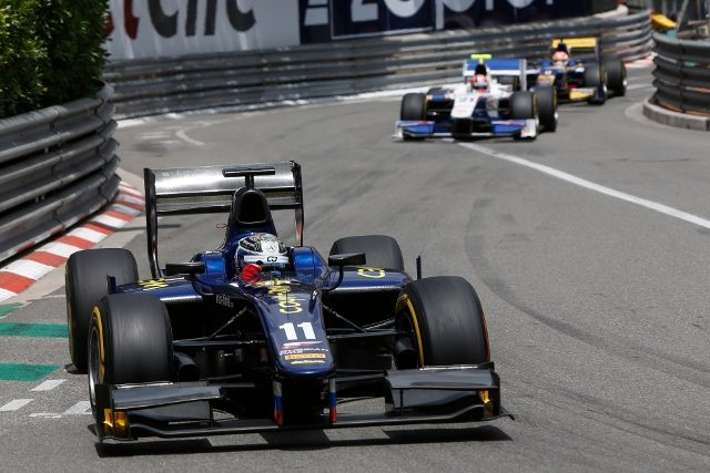 Bird took the lead after Mitch Evans made his mid-race pitstop (Photo Credit: Andrew Ferraro/GP2 Series Media Service)