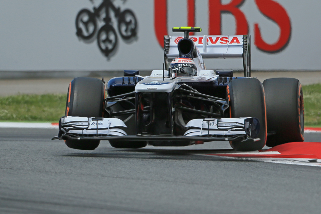 Valtteri Bottas out-qualified Maldonado on a dismal day for Williams (Photo Credit: Octane Photographic Ltd)