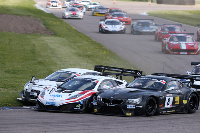 A record grid promises close racing at Silverstone (Photo Credit: Jakob Ebrey)
