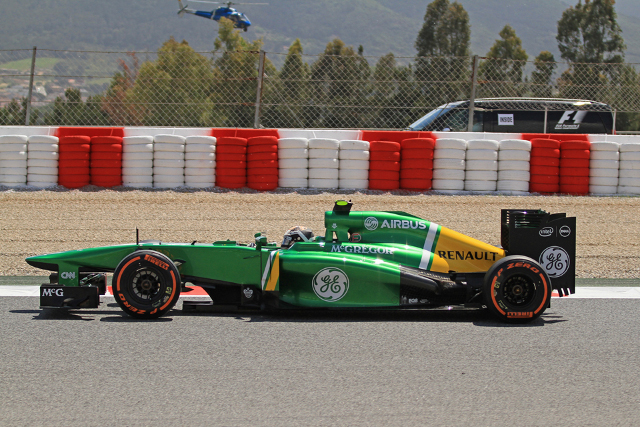 Geido van der Garde, Barcelona (Photo Credit: Octane Photographic Ltd)