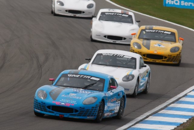 In her second Ginetta Junior weekend there was plenty of close racing for Jamie Chadwick (Photo Credit: Jakob Ebrey Photography)