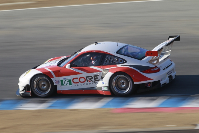 Long and Kimber-Smith suffered on CORE's GT debut (Photo Credit: Porsche North America)