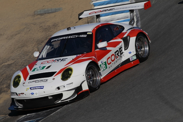 Patrick Long qualified second for CORE Autosport on their GT debut (Photo Credit: Porsche North America)