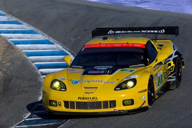 Gavin's lap put his #3 the better placed of the two Corvettes (Photo Credit: Richard Prince/Corvette Racing Photo)
