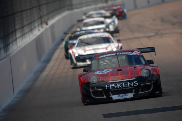 The lone Trackspeed Porsche to finish, Fisken and Westbrook took maximum points (Photo Credit: Chris Gurton Photography)