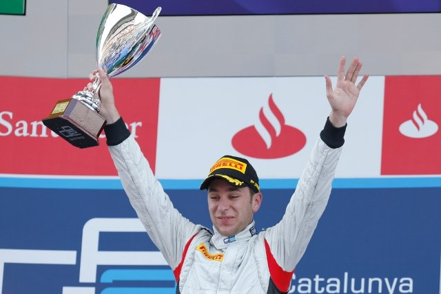 An early pitstop paved the way for Frijns to take victory (Photo Credit: Alastair Staley/GP2 Series Media Service)