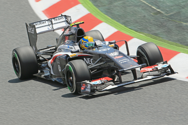 Gutierrez narrowly missed out on his first F1 points (Photo Credit: Octane Photographic Ltd)