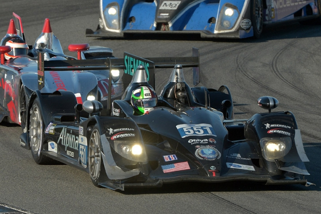 As Muscle Milk Pickett Racing won in LMP1, Level 5 Motorsports scored a 1-2 in P2 (Photo Credit: American Le Mans Series)