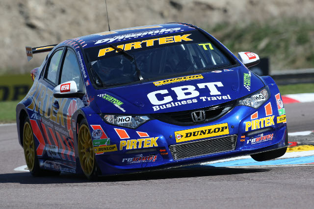 The independents' champion will head both works Civics on the grid (Photo Credit: btcc.net)