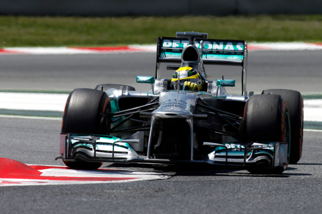 Tyre wear woe crippled Mercedes' race (Photo Credit: Mercedes GP)