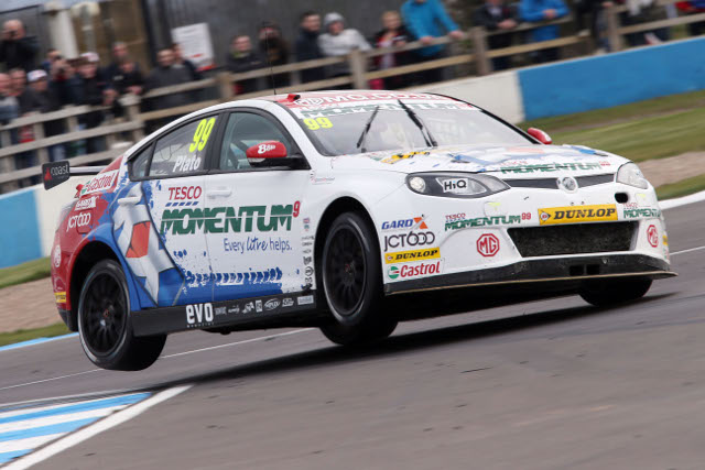 Jason Plato, Donington Park (Photo Credit: Chris Gurton Photography)