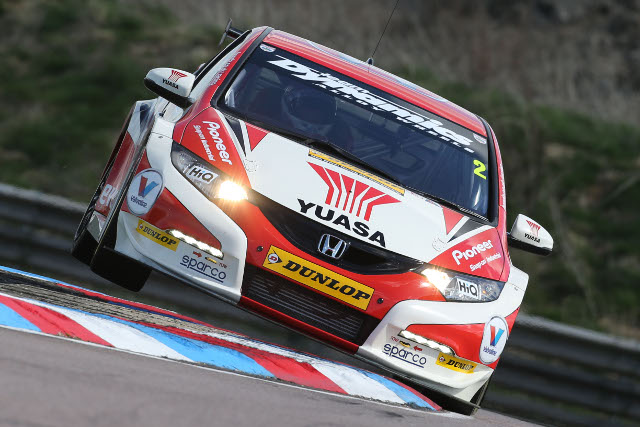 Matt neal, Thruxton (Photo Credit: btcc.net)