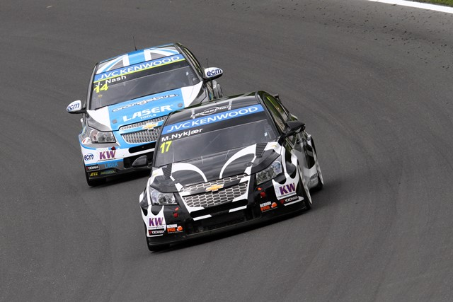 Michel Nykjaer and James Nash - Photo Credit: FIA WTCC