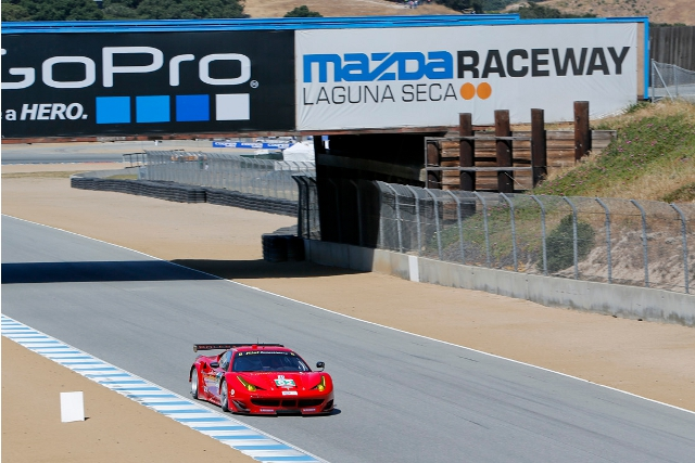 Matteo Malucelli claimed his first ever ALMS pole for the team (Photo Credit: Risi Competizione/Regis Lefebure)