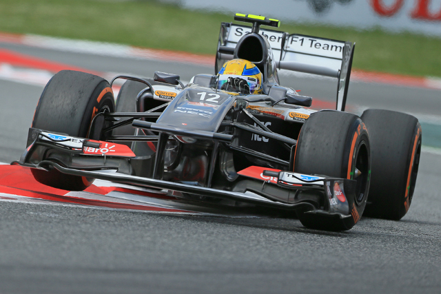 Gutierrez will be pushed back down the grid by a penalty (Photo Credit: Octane Photographic Ltd)