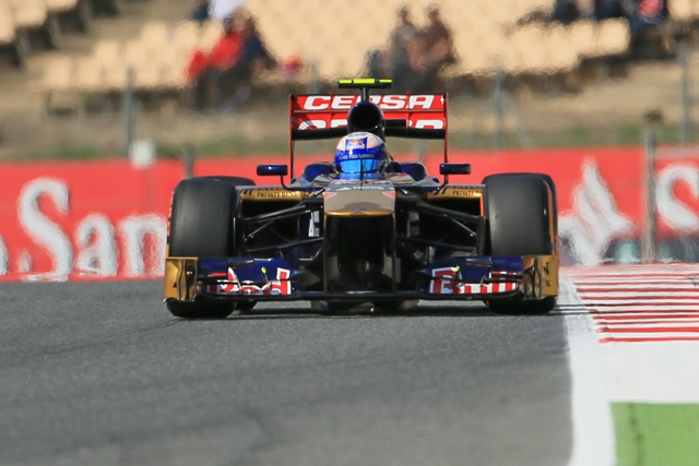 Ricciardo leads the two Toro Rosso on the sixth row of the Spanish GT grid (Photo Credit: Octane Photographic ltd)