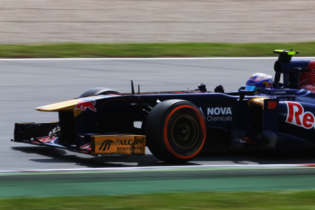 Ricciardo scored a single point for the team (Photo Credit: Clive Rose/Getty Images)