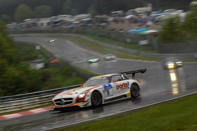 The Black Falcon tem claimed the first N24 win for Mercedes (Photo Credit: Chris Gurton Photography)