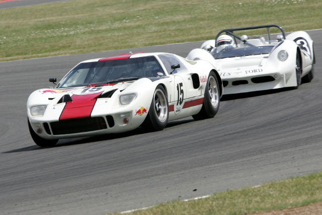 Soper will make his racing return in a Ford GT40 at the Classic festival (Photo Credit: Jakob Ebrey Photography)