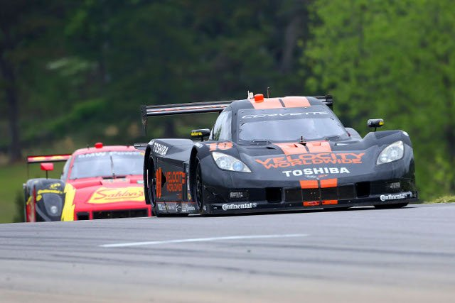 Wayne Taylor Racing crashed out of the lead on the Rolex Series' Detroit Debut (Credit: Grand-Am)