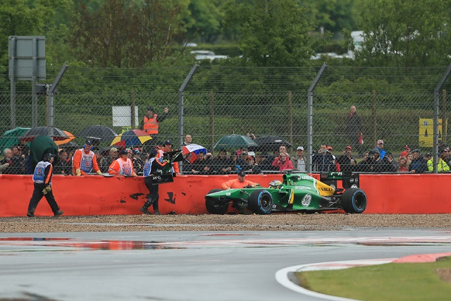 Charles Pic's FP1 ended early - Photo Credit: Octane Photographic