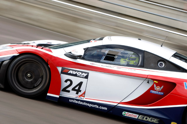 Blundell will step out the McLaren's driving seat (Credit: Jakob Ebrey Photography)